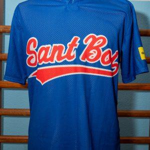 Camiseta de juego de béisbol